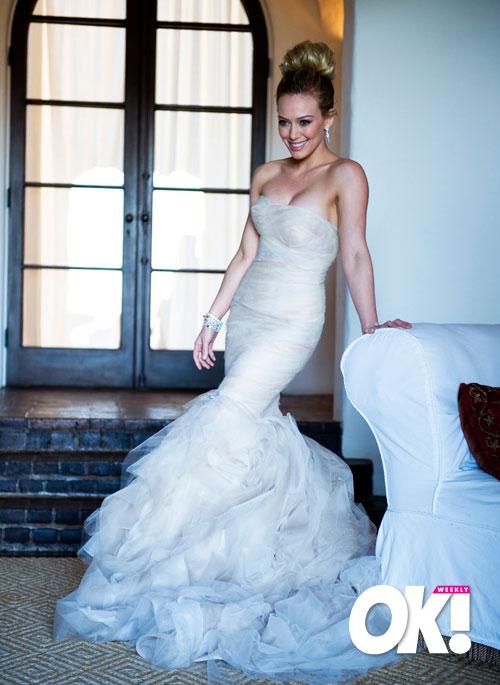 Sarah Michelle Gellar Wedding Dress Designer