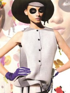 Panda eye made a feature in Vogue in 2008
