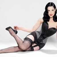 Dita Von Teese's Preferred Corset Maker