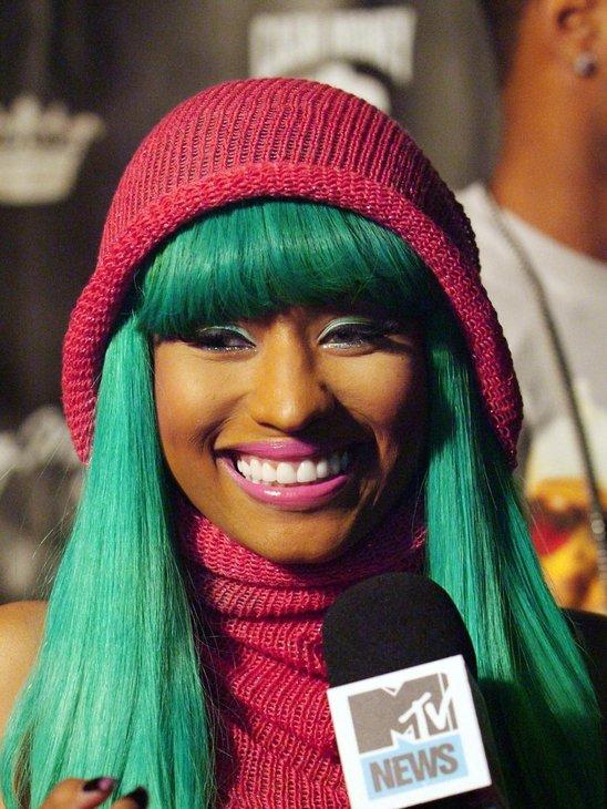Nicki Minaj Without A Wig Or Weave Niki Minaj: Wig...