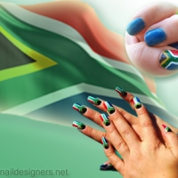Weekend Trend Crush: Flag Nails