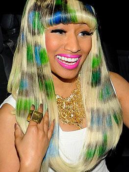 Nicki Minaj Without A Wig Or Weave Niki Minaj: Wig Alert!...