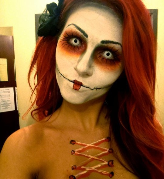 ... Brilliantly Extravagant Makeup Looks for Halloween  Pout Perfection