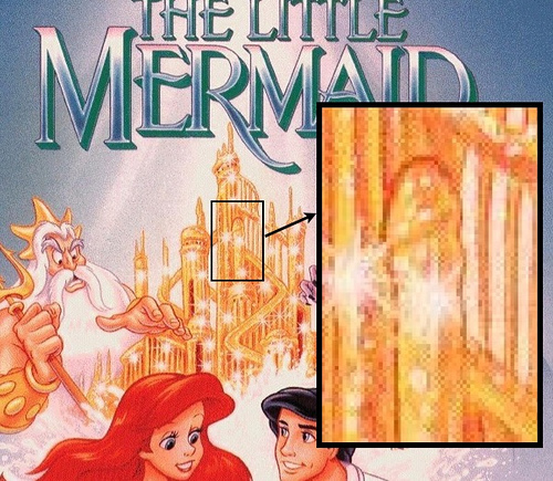 The Little Mermaid's Original VHS cover with a Ding Dong Apparently there ...
