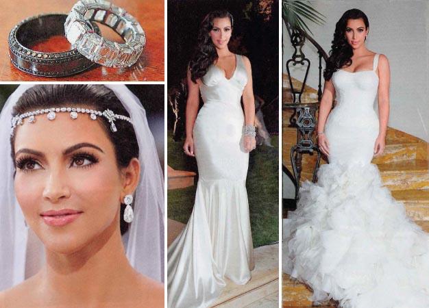 Kim Kardashian Wedding Dress Replica For