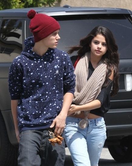 Selena justin gomez bieber