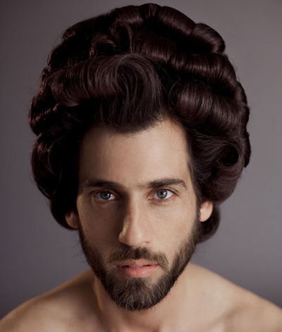 Men With Lady Hair Pout Perfection