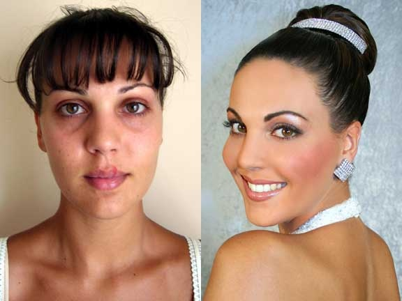 Evening Wedding Makeup Looks : Tips on Creating Evening Wedding Makeup Bride Sparkle
