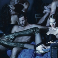 NSFW: Banned Brian Atwood Ad Campaign featuring Candice Swanepoel