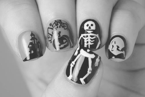 will ... - HALLOWEEN : Funky Nail Art Pout Perfection
