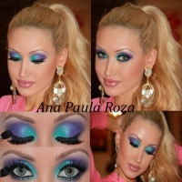 ANA PAULA ROZA EYE MAKEUP HOW-TO'S
