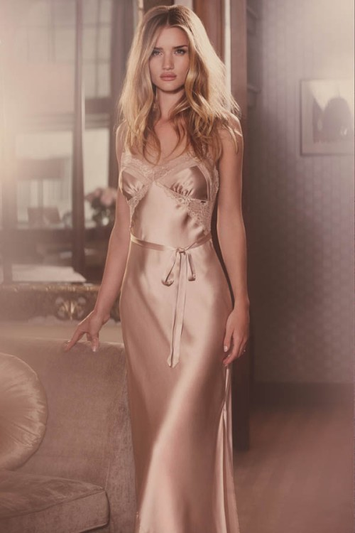 Rosie Huntington-Whiteley models her Marks & Spencer Spring/Summer 2013 lingerie collection