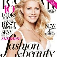 Gweneth Paltrow covers Harpers Bazaar May 2013