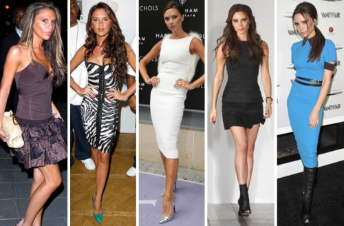 50 shades of Victoria Beckham... ok, not quite, just a few! lol