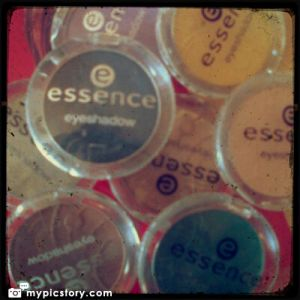 Some of my own Essence products