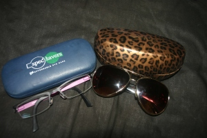 Sun-glasses and Prescription Glasses