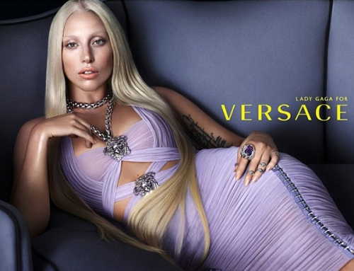 LADY GAGA FOR VERSACE (1)