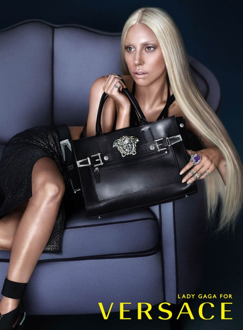 LADY GAGA FOR VERSACE (2)