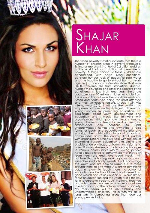 Shajar Khan - Platform Sheet