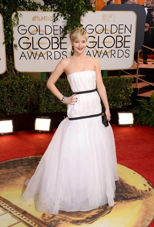 Jennifer Lawrence Golden Globes 2014