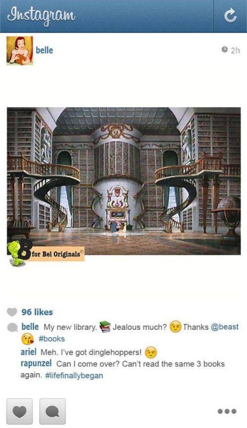 Belle Instagram