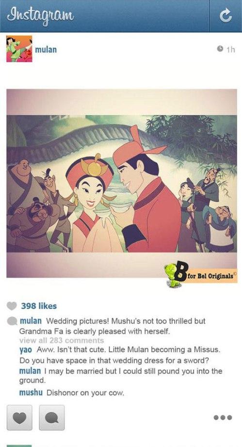 Mulan Instagram
