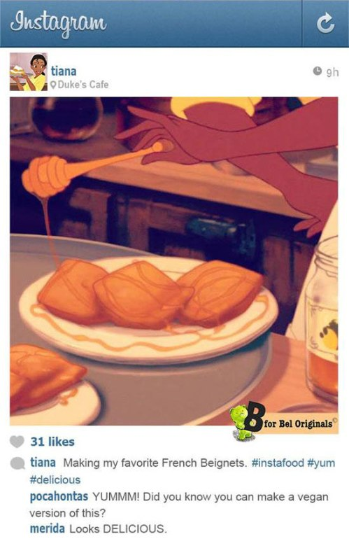 Princess & The Frog Instagram