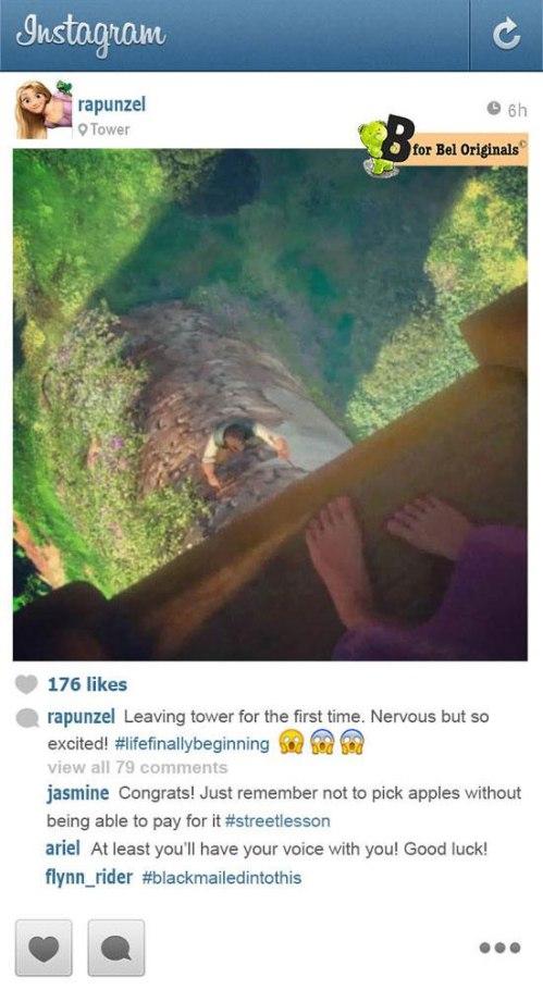 Tangled Instagram