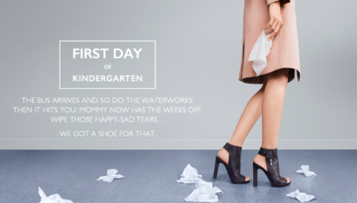 Nine West - First Day of Kindergarten Kit