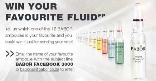 BABOR South Africa's current comptition