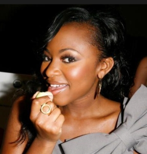 Actress and singer Naturi Naughton